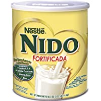 Nestle Nido Fortificada Dry Milk Canister 56.3 Ounce