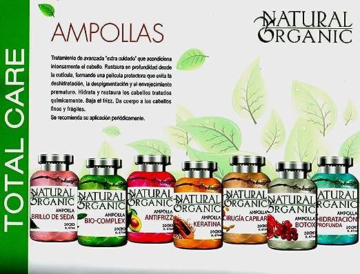 Amazon.com : AMPOLLAS CAPILARES BIOCOMPLEX (24 und de 20 ml C/u) : Beauty