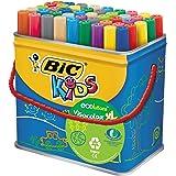 BIC Kids Visacolor XL Ecolutions Feutres de Coloriage - Pot de 48