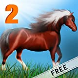Horse Poney Wild Agility Race 2 : The winter icy mountain dangerous path - Free