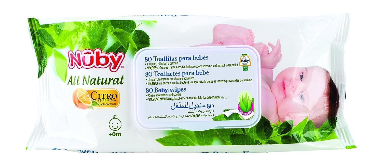 Citroganix CG42080ARENPOSP - Toallitas para bebé s, unisex Nûby