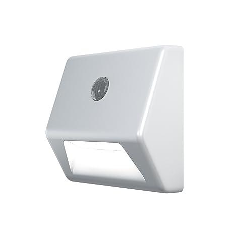Osram Nightlux Stair Luminarias Móviles, 0.3 W, Blanco, 2.8 x 8.4 x 7.3