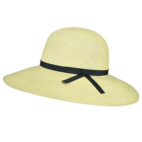 Pantropic Female Madeline Wide Brim Hat Dark Natural Black 1Sfm at ... ef8c876c90e6