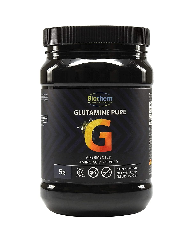 Biochem Glutamine Pure Powder-17.6oz Each -Country Life, 0.06 Pound, Energy Production Immune Health, Keto Friendly