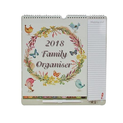 2 opinioni per Calendario agenda familiare 2017 Arpan, con penna, lista della spesa, date da