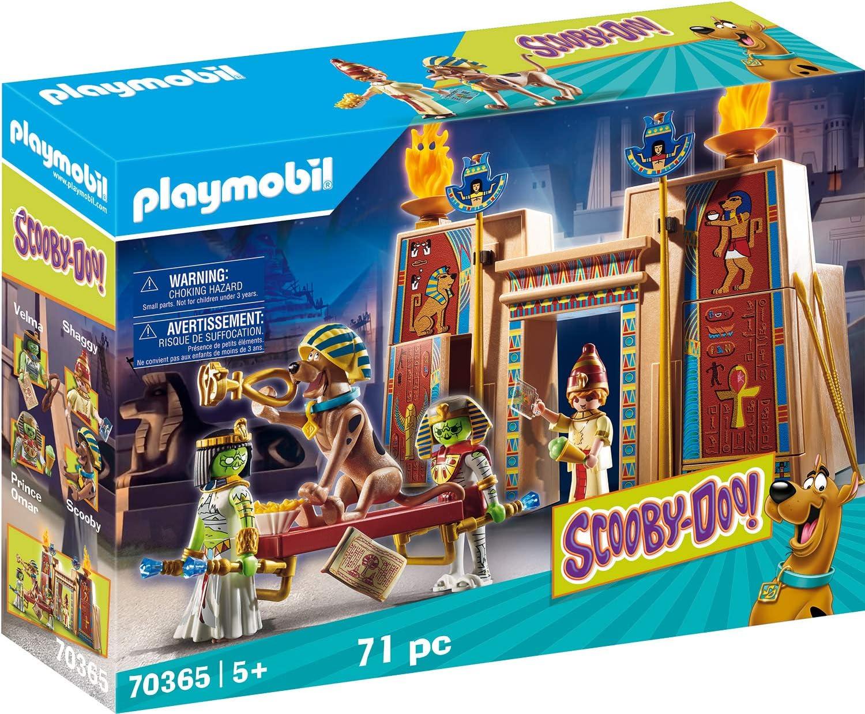 PLAYMOBIL Scooby-DOO! Aventura en Egipto (70365)