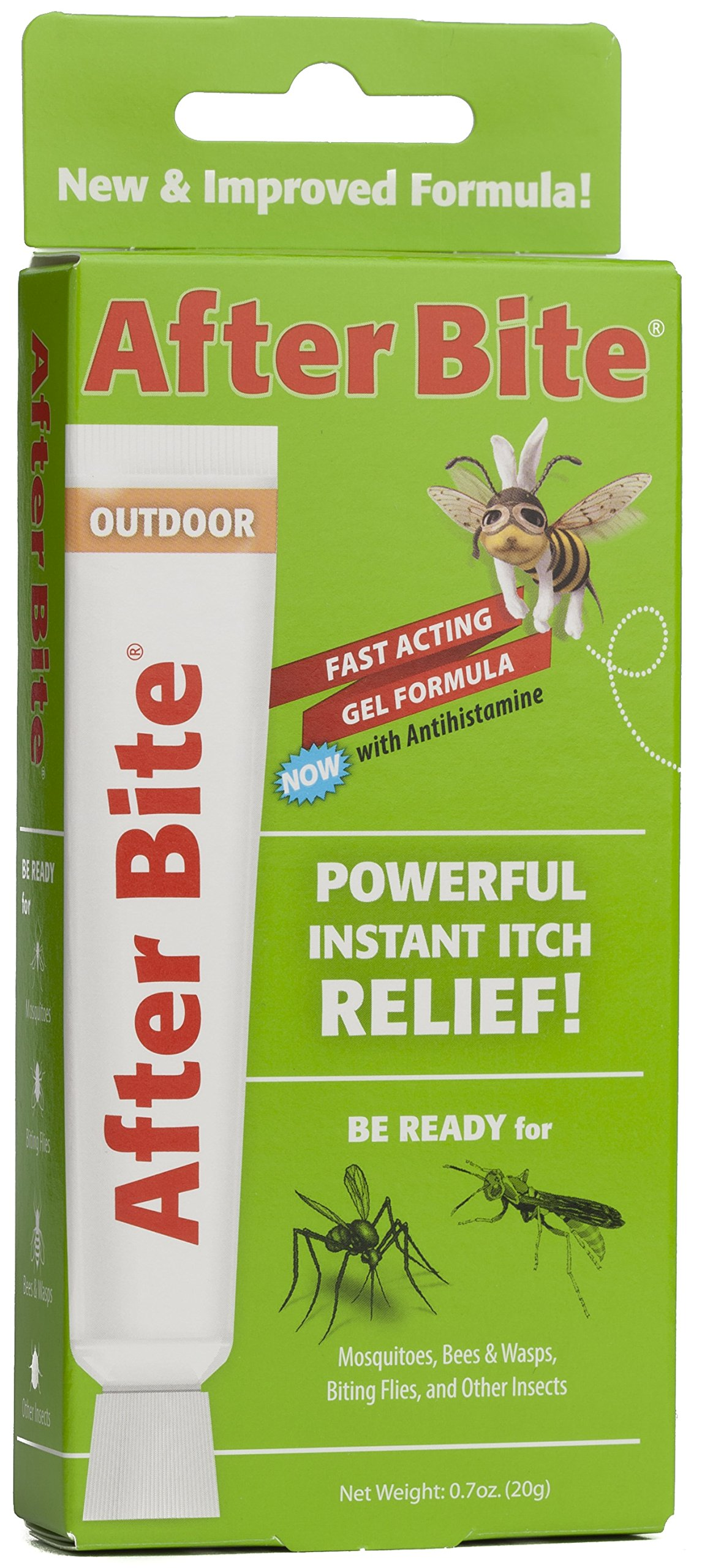 After Bite Outdoor Itch Relief, 0.7 oz (Pack of 4) by After Bite