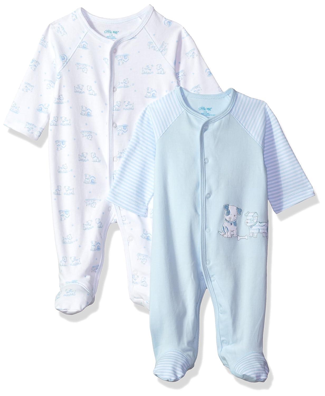 Little Me Baby Boys 2 Pack Bodysuit