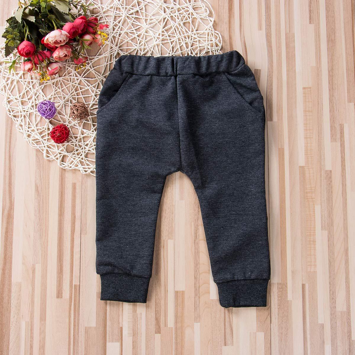 yiguanguan Baby Boys Pants Cartoon Shark Tongue Leggings Trousers Harem Pants for 0-4 Years Old Kids