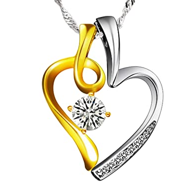 Amazon you and me sterling silver heart shaped pendant quotyou and mequot sterling silver heart shaped pendant necklace aloadofball Image collections