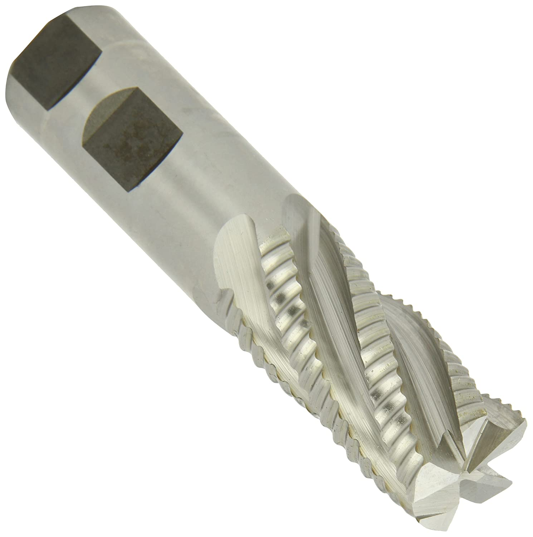 5//8 LOC 13//64 Diameter 2-1//2 OAL CGC Tools CEM1364F4TICN Primate Square Nose End Mill TiCN Coating 4 Flute 1//4 Shank