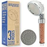 Ionic Shower Head Handheld - 3way Function Filter Bead Replacement 200% High Pressure, 30% Water Saving