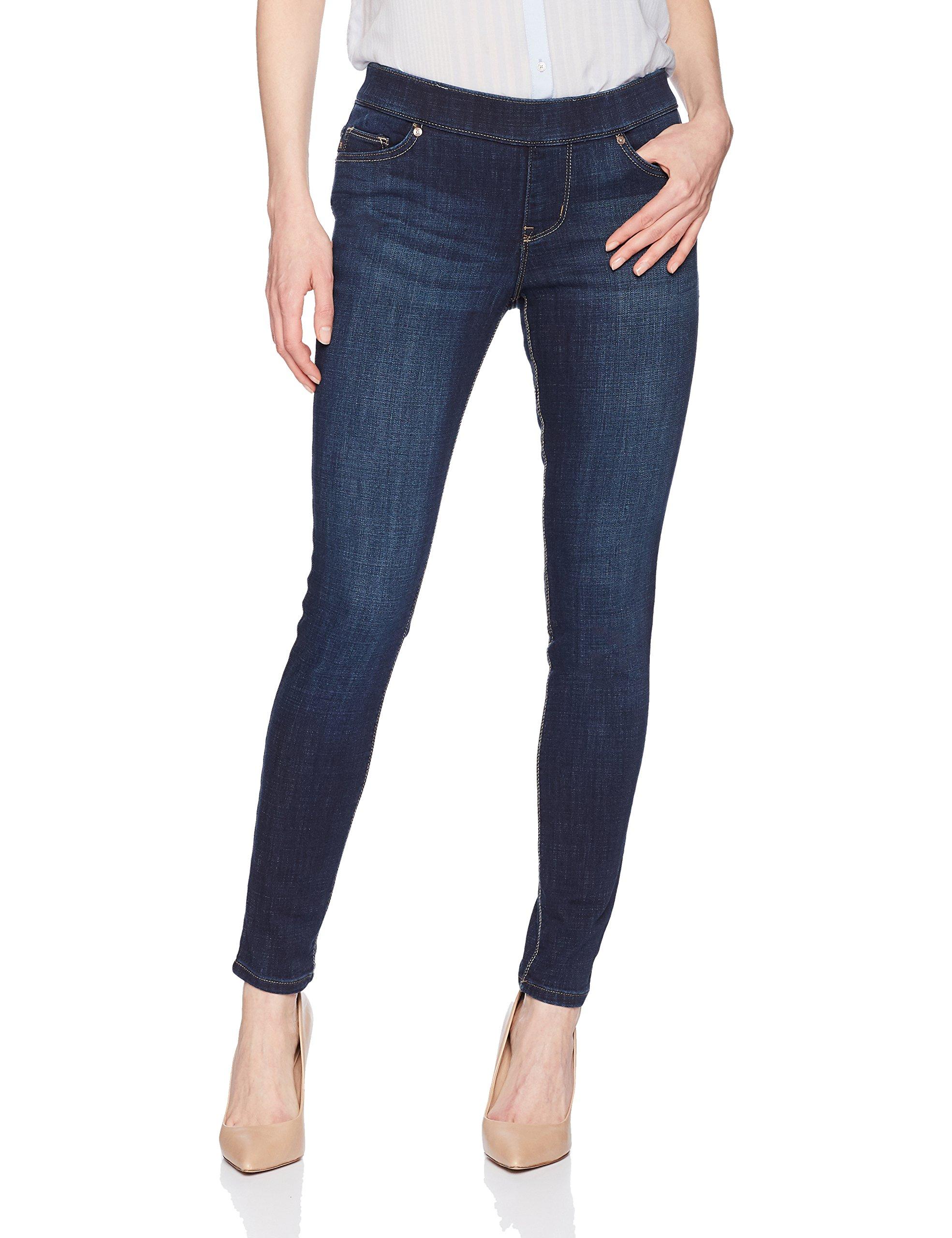 LEE Women's Modern Series Midrise Fit Dream Jean Harmony Pull On Legging, Electric, 14 Short