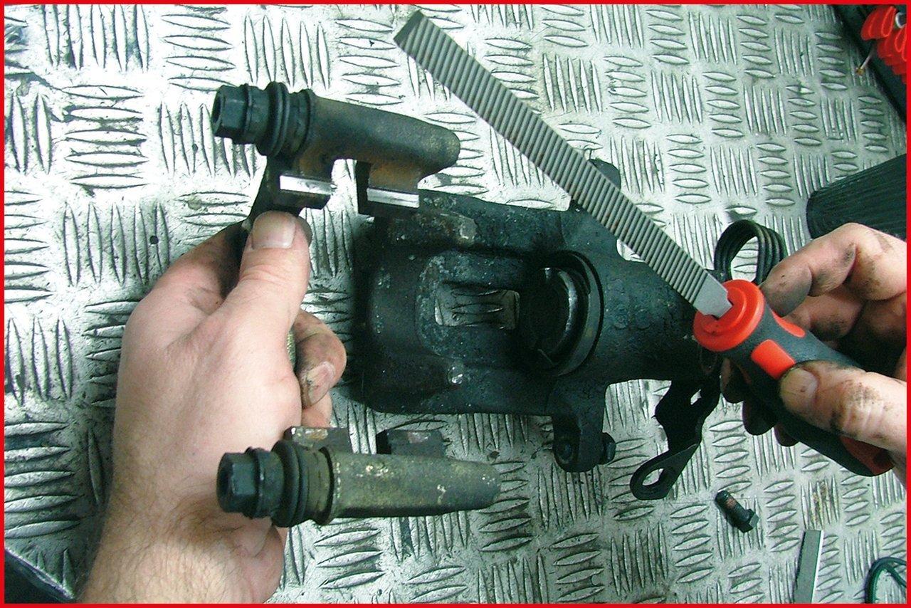 270mm KS Tools 157.0950 Bremssattel-Feile