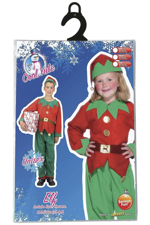 Smiffys - Disfraz de elfo infantil, talla S (3 - 5 años) (24507S): Smiffys: Amazon.es: Juguetes y juegos