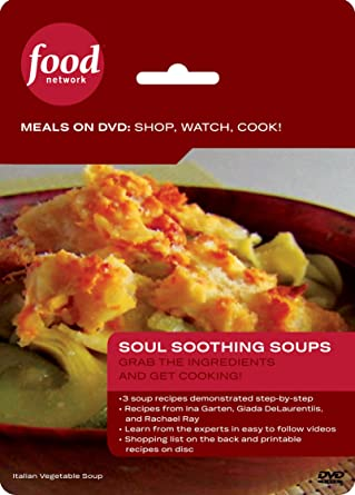 Amazon Food Network Meals On Dvd Shop Watch Cook Soul