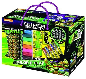 Ninja Turtles - Caja Play & Color, 42511: Amazon.es ...