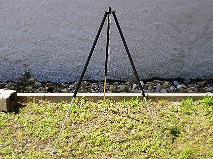 Dreibein für Feuerschale Schwenkgrill Feuerstelle Grillrost Gulasch Topf