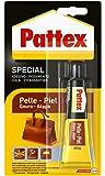 Pattex Pegamento para piel con alta flexibilidad y larga duración, 1 x 30 gr