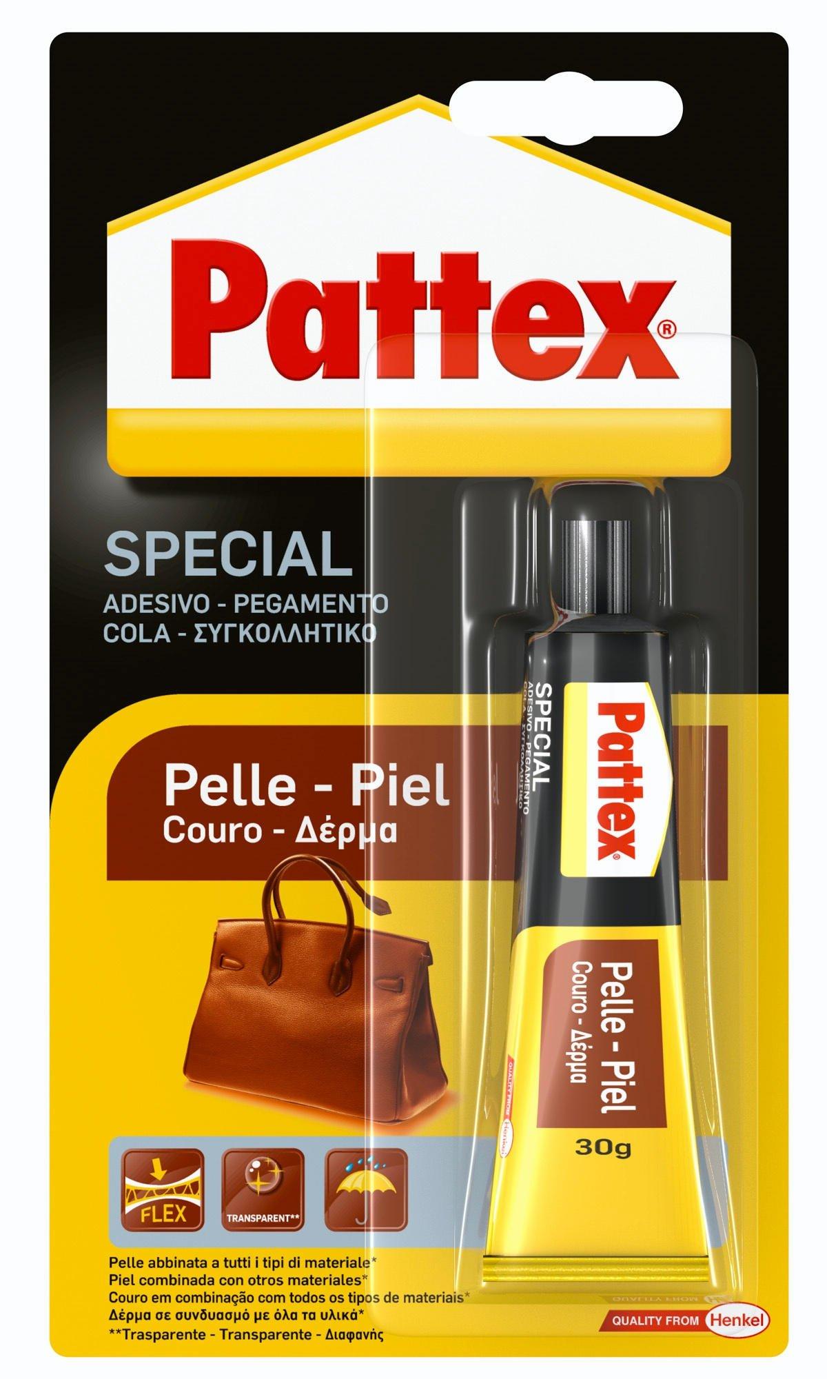 Pattex Pegamento para piel con alta flexibilidad y larga duración, 1 x 30 gr product