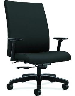 Black CU10 HON HON4003CU10T Solutions Seating Guest Chair
