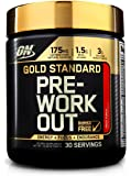 Optimum Nutrition Gold Standard Pre Workout, Fruit Punch, 300 Grams