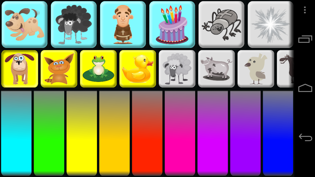 amazoncom kids animal piano free appstore for android - Animals Pictures For Kids Free Download