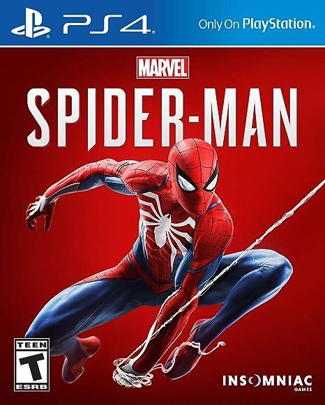 Amazon Com Marvel S Spider Man Playstation 4 Sony Interactive Entertai Video Games