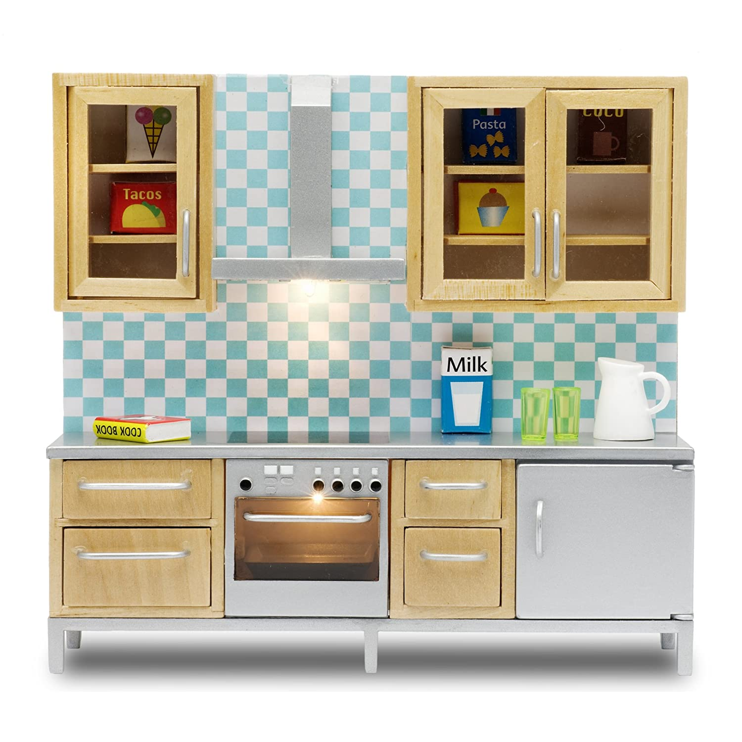 Lundby 60.9041.00 - Set da Cucina, Mini Bambola con Accessori 60904100