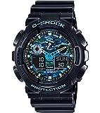 Casio G-Shock Analog-Digital Blue Dial Men's Watch - GA-100CB-1ADR (G625)