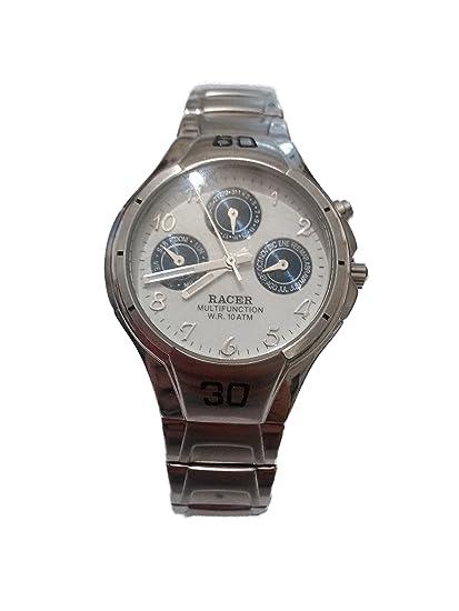 Racer Boy multifunción reloj de acero inoxidable p27786 – 1