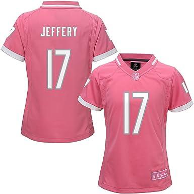 sports shoes 1353e 36968 Amazon.com: Alshon Jeffery Chicago Bears #17 Bubble Gum Pink ...