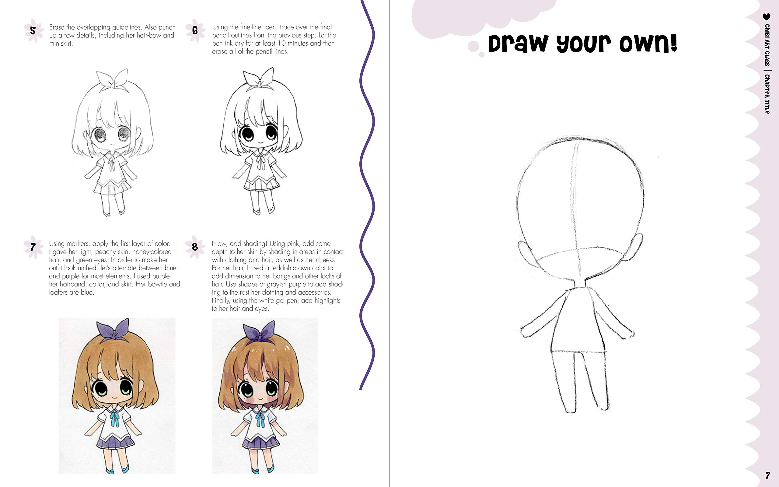 Amazon Com Chibi Art Cl A Complete Course In Drawing Chibis And Beasties 9781631065835 Yoai Books