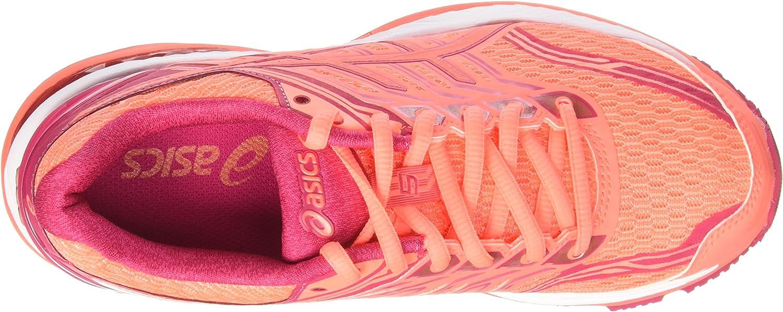 Asics GT 2000-5, Zapatillas de Running para Mujer, Naranja (Flash Coral/Coral Pink/Bright Rose), 37 EU: Amazon.es: Zapatos y complementos