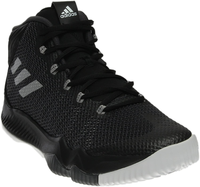 finest selection d671e 0ca33 adidas Crazy Hustle Shoe Mens Basketball 12.5 Black-Silver-Black  Amazon.co.uk Shoes  Bags