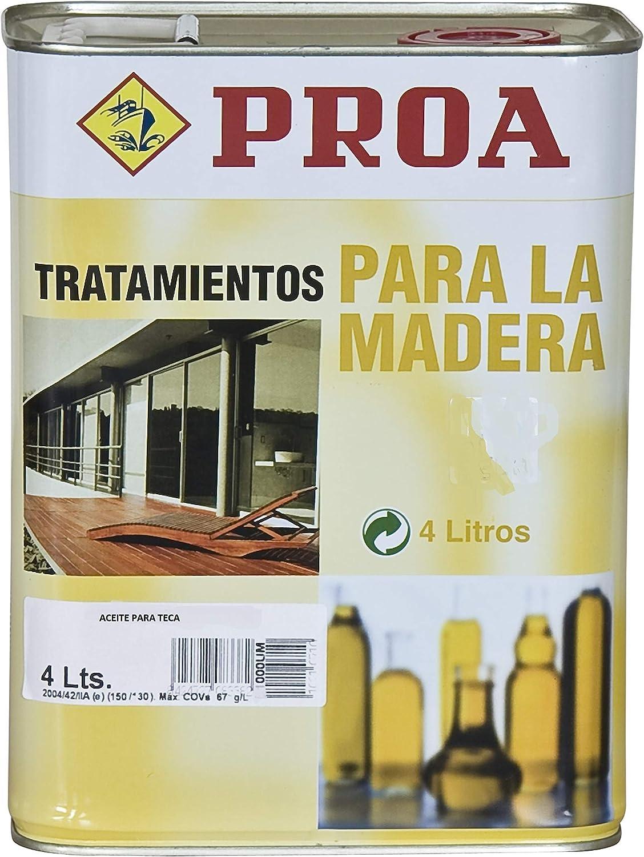 Aceite para Teca PROA: Amazon.es: Bricolaje y herramientas