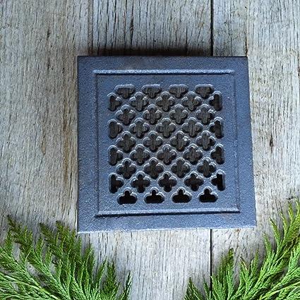 Antikas - reja ventilación estufa chimenea - reja de aire chimenea - cercas de aire de