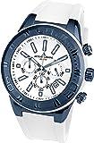 Jacques Lemans Herren Armbanduhr Chronograph Quarz Silikon 1-1820J