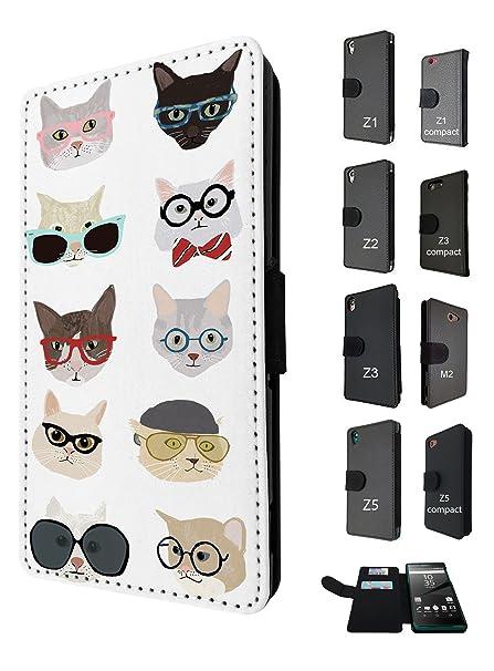 938 - fresco lindo divertido gatos gatitas empollón gafas ...