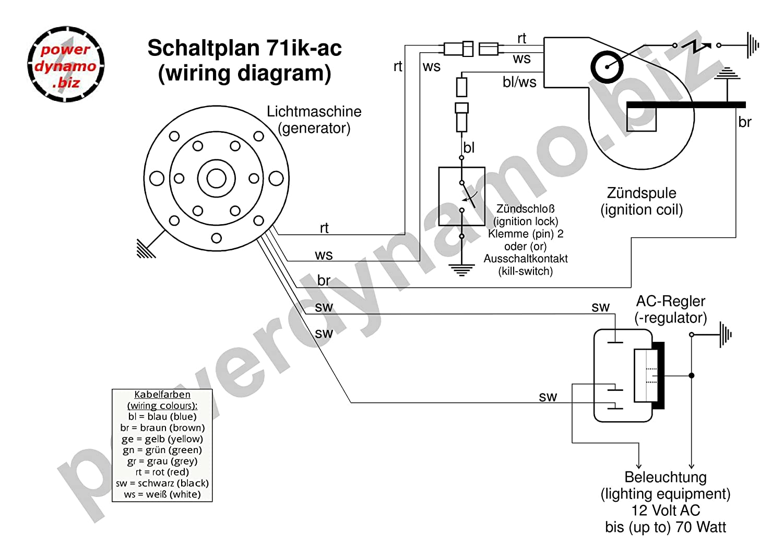 Amazon.com: Powerdynamo MZ-B Racing Ignition System Stator Suzuki ...