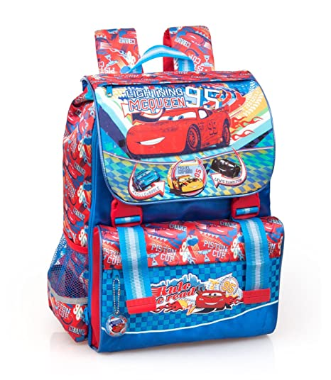 65eeffa9f6 Zaino Scuola Estensibile Cars - Disney: Amazon.it: Cancelleria e ...