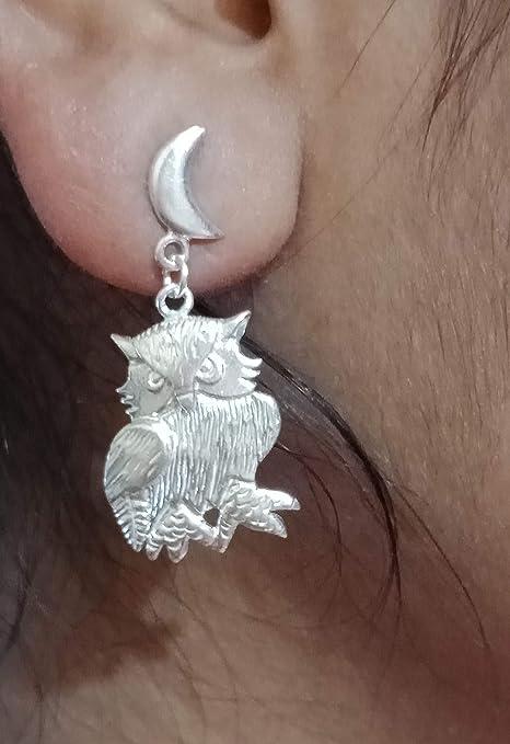 Jewellery Pierced Handmade Silver Earrings Dangle