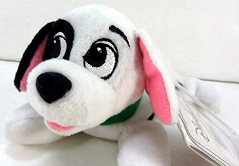 "Disneyland Paris 101 Dalmatians 4"" Lucky Mini Peluche Lucky Rouge ..."