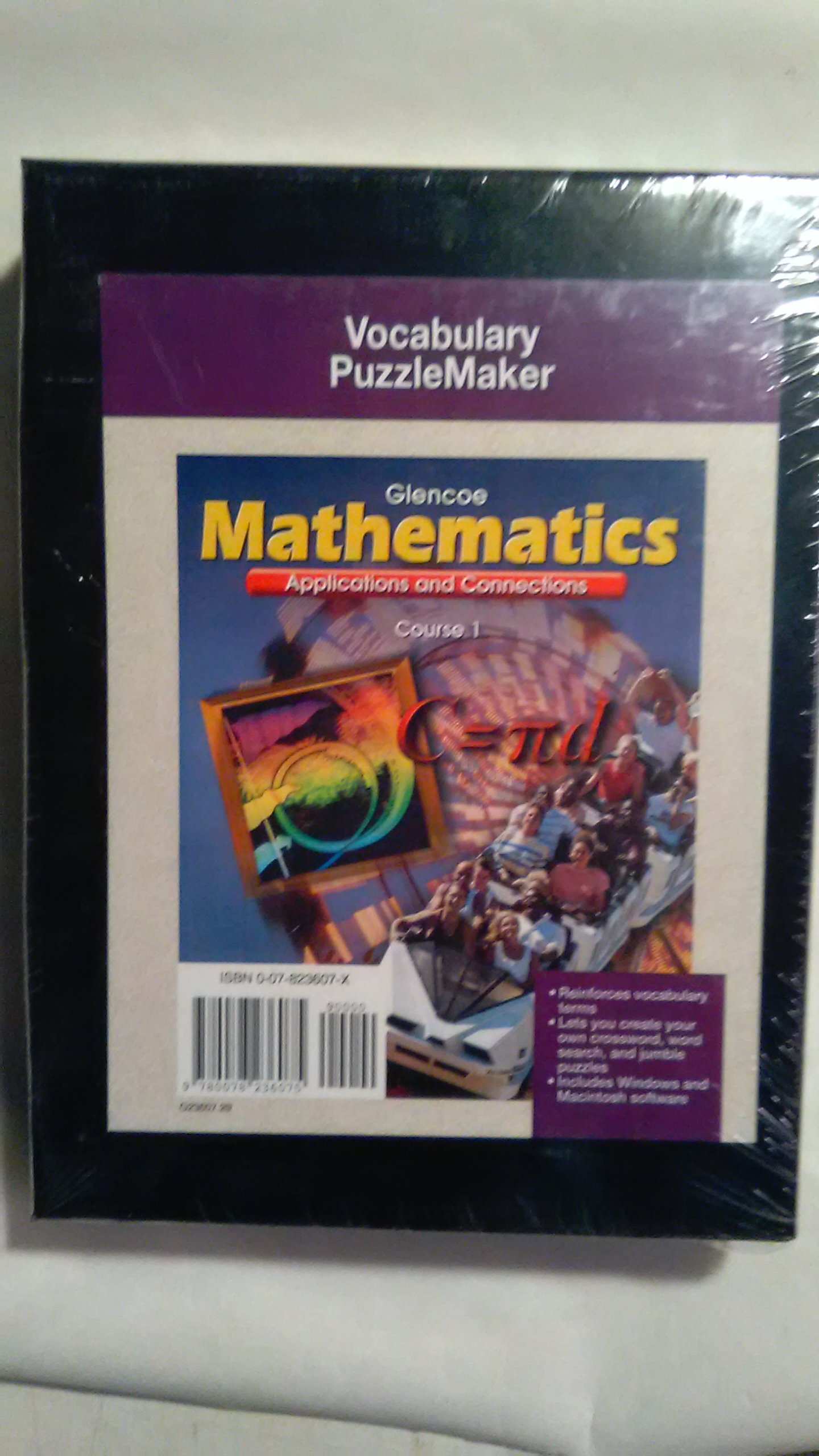 Download Mathematics: Applications and Connections, Course 1, Vocabulary Puzzlemaker pdf epub