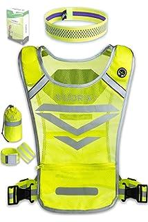 80ae81d4e0cbb4 Amazon.com   247 Viz Reflective Vest with Hi Vis Bands