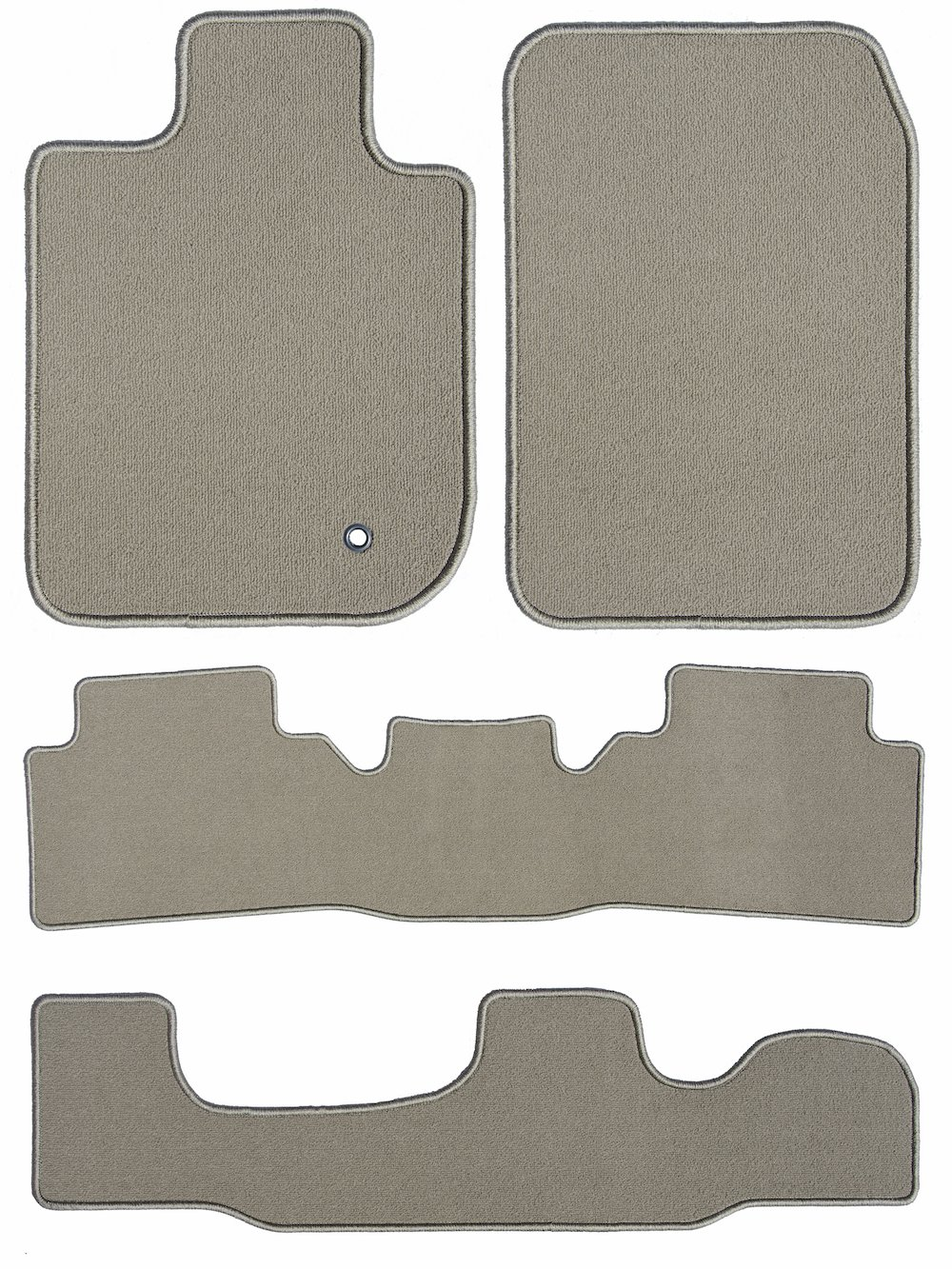 4 Piece Floor 2017 Nissan Quest Beige Loop Driver Passenger GGBAILEY D3602A-LSA-BG-LP Custom Fit Car Mats for 2011 2013 2012 2015 2016 2014 2nd /& 3rd Row
