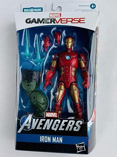 Lot Of 2 NEW Marvel Legends Avengers Captain America /& Iron Man GamerVerse