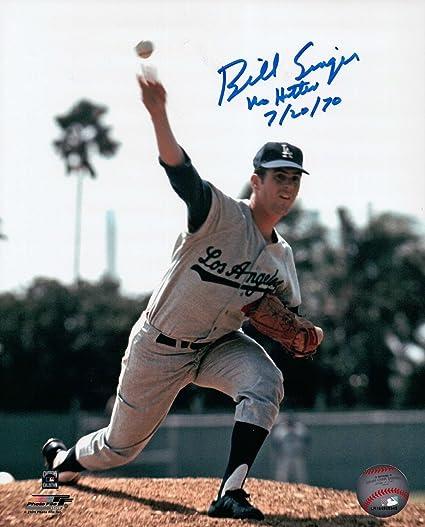 b3d0a9c44 Bill Singer Signed 8X10 Photo quot No Hitter 7 20 70 quot  Autograph Dodgers