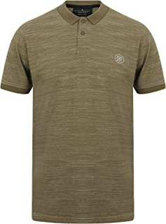 Dissident Men's Matsuki Textured Stripe Polo Shirt