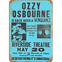 OZZY Osbourne in Milwaukee Póster De Pared Metal